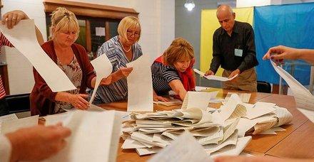 Ukrayna'da seçimin galibi Zelenski'nin partisi oldu