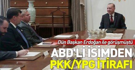 Başbakan Erdoğan ile görüşen ABD'li senatör Lindsey Graham'dan PKK/YPG itirafı