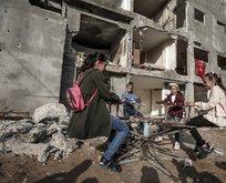 Gazze'de bayramda çocuk olmak