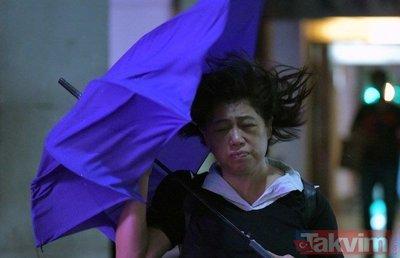 Tayvan'da tayfun hazırlığı
