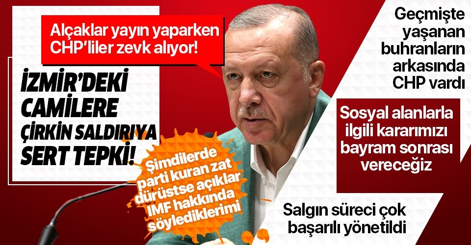 Son dakika: Başkan Erdoğan'dan AK Parti Genişletilmiş İl Başkanları Toplantısı öncesi önemli açıklamalar