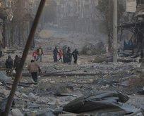 Halepte ateşkes sağlandı