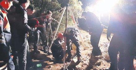 Bursa İznik'te bulunan bir mağarada 7 defineci mahsur kaldı