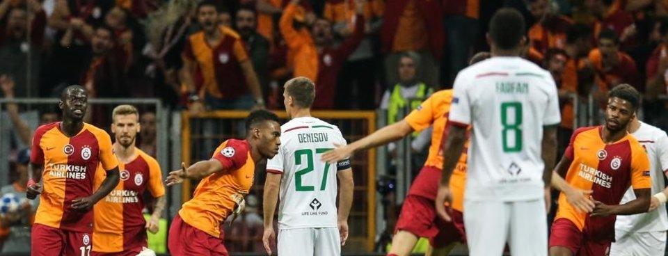 Cimbom Avrupa sahnesine 'Garry' döndü! (MS: Galatasaray 3-0 Lokomotiv Moskova)