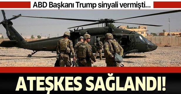ABD medyası duyurdu: Taliban ve ABD anlaştı!