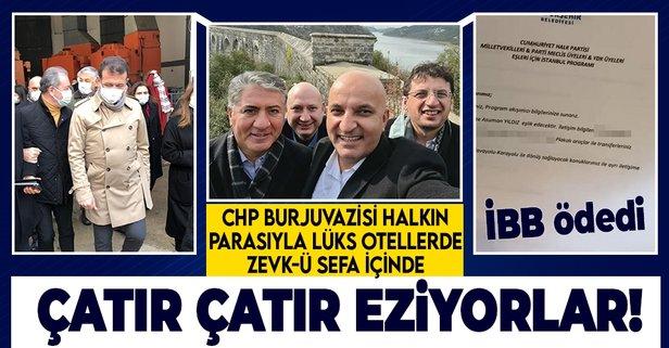 İBB'de yine yolsuzluk! Halkın parası CHP'li milletvekilleri, Parti Meclisi,  Yüksek Disiplin Kurulu üyeleri ve eşleri için mi harcandı? - Takvim