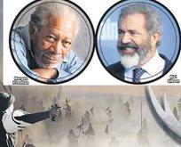 Mel Gibson ile Morgan Freeman Kerbela'da buluşuyor