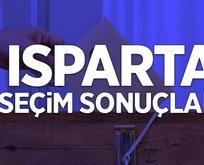 Isparta seçim sonuçları açıklandı mı?