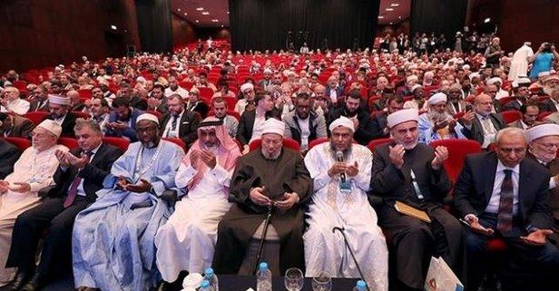 Dünya Müslüman Alimler Birliğinden Libya'ya destek