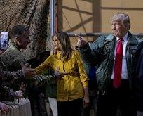 Donald Trump Irak'ta!
