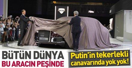 Putin'in yeni canavarı görücüye çıktı... İçinde yok yok