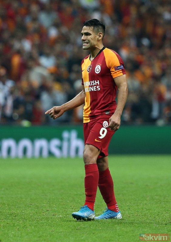Kadroya alınmamıştı, kafaları karıştırdı! Galatasaray'da Falcao depremi
