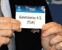 Galatasarayın Şampiyonlar Ligindeki fikstürü belli oldu