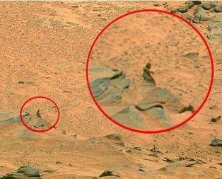 Mars'tan gelen fotoğraf kan dondurdu! Uzaylılarla ilgili ilk kez...