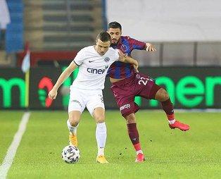 Trabzonspor sahasında Kasımpaşa'ya mağlup oldu