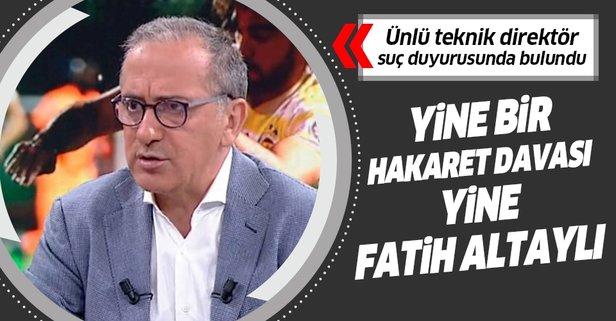 Fatih Altaylı'ya Beşiktaş davası