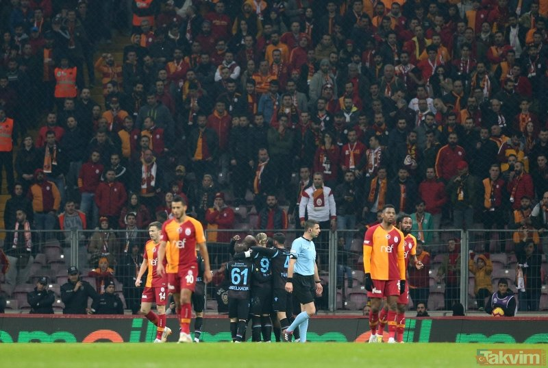 Galatasaray - Trabzonspor maçının hakemi Ümit Öztürk'ten olay açıklama: Hakemliği bırakırım!