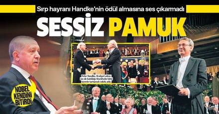 Sırp katillerinin hayranı Peter Handke'nin Nobel almasına Orhan Pamuk tek kelime etmedi!
