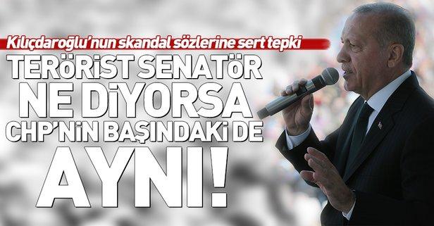Erdoğan'dan Bay Kemal'e sert tepki