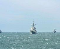NATO savaş gemileri Gürcistan'da