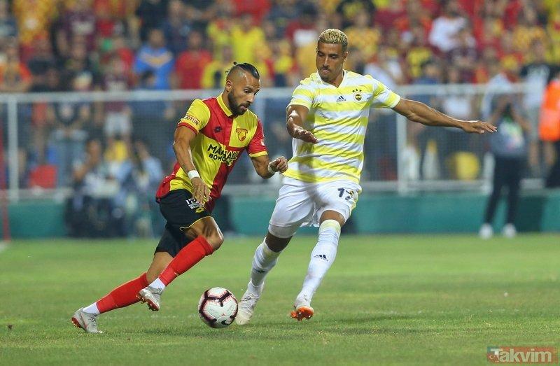 Kanarya 3 puanı İzmirde bıraktı I Göztepe: 1 - Fenerbahçe: 0