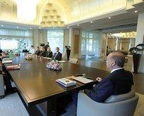 Başkan Erdoğan başkanlığında kritik zirve