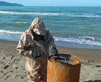 Ordu sahilde esrarengiz variller!