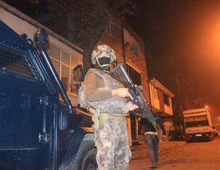 İstanbul'da uyuşturucu satıcılarına yönelik şafak operasyonu