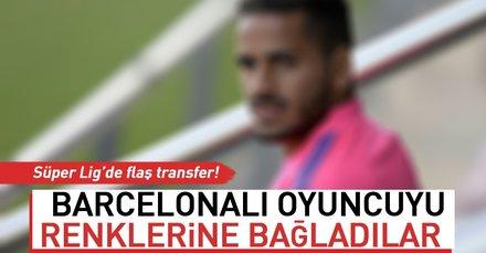 Sivasspor, Barcelonalı Douglas Pereira Dos Santos'u renklerine bağladı