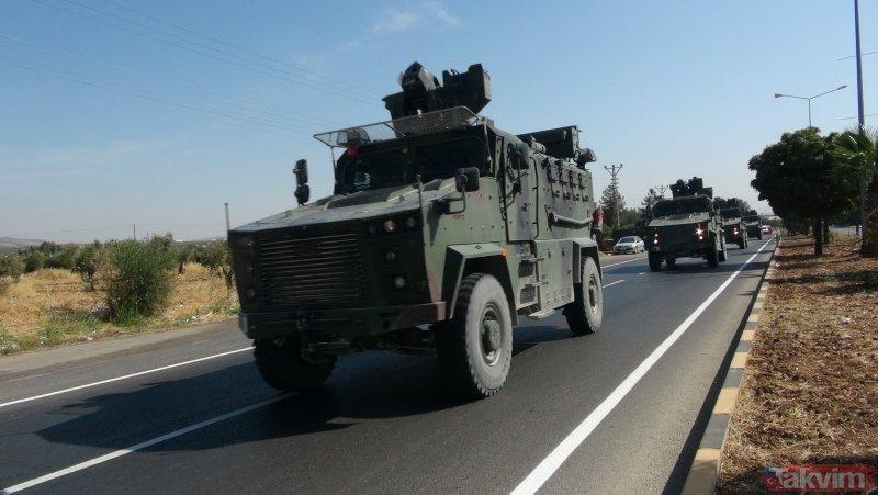 Suriye sınırında hareketlilik! Yüzlerce metre kuyruk oluştu