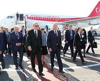 Başkan Erdoğan Moldovada resmi törenle karşılandı