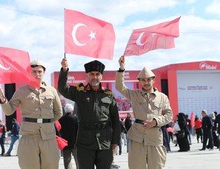Cumhur İttifakı'nın Yenikapı'daki 'Büyük İstanbul Mitingi'nden kareler