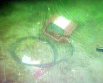 Bostancı'da düşen helikopterin görüntüleri ortaya çıktı
