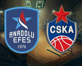 Anadolu Efes-CSKA Moskova maçı hangi kanalda?