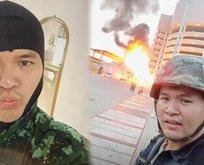 Tayland'da bir asker kalabalığa ateş açtı