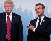 Fransadan ABD Başkanı Donald Trumpa çok sert yanıt