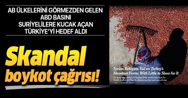 Türkiye için skandal boykot çağrısı!