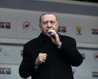 Başkan Erdoğan İstanbul'da müjdeyi verdi