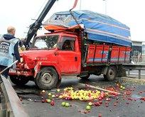 İstanbullular dikkat! E-5te trafiği durduran kaza