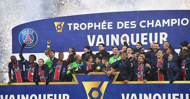 Kupa PSG'nin!