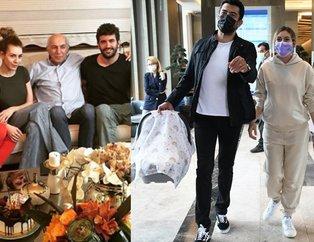 Kenan İmirzalıoğlu'nun yeni doğum yapan eşi Sinem Kobal evinin terasından paylaştı! Annesi de yanında...