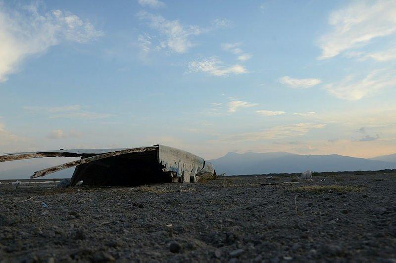 Afyonkarahisar'da bulunan Eber Gölü tamamen kurudu