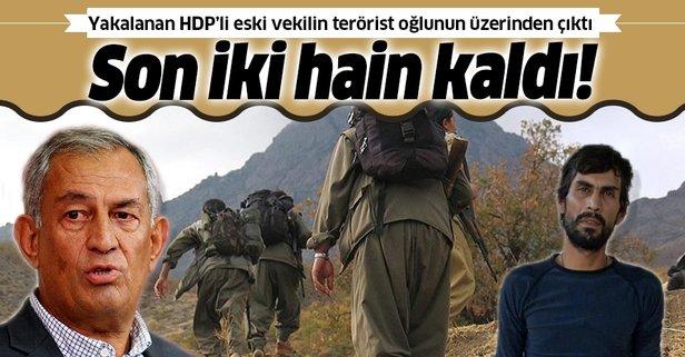 HDP'li Çelik'in terörist oğlunun üzerinden çıktı