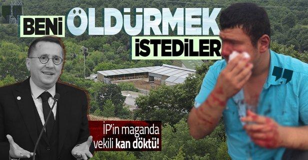 İP'lilerin saldırısına uğrayan gazeteci konuştu!
