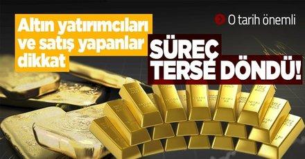 Altın yatırımcıları ve satış yapanlar dikkat! Altın fiyatları patladı! Süreç tepetaklak oldu! 22-14 ve 18 ayar bilezik gram...