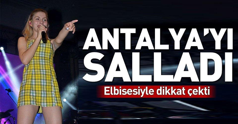 Aleyna Tilki Antalyayı salladı