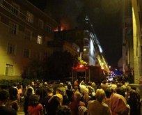 Gebzedeki yangını vatandaşlar gülerek izledi