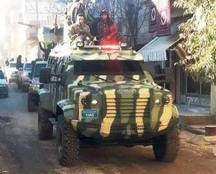 ABDden terör örgütü YPGye yeni silah sevkiyatı