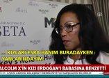 Müslüman lider Malcolm Xin kızı İlyasa Şahbazdan Erdoğan açıklaması