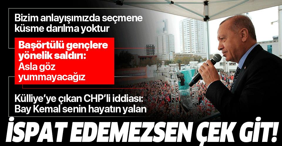 Başkan Erdoğan'dan Kılıçdaroğlu'na
